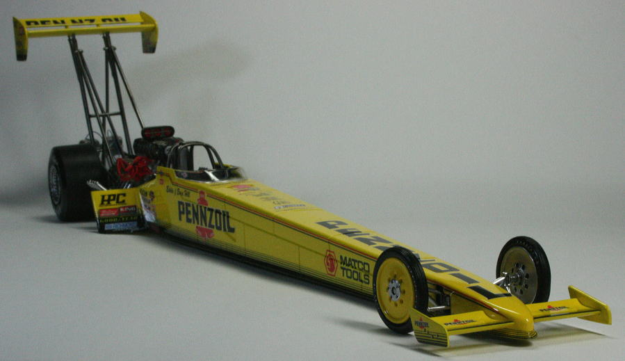 Pennzoil Top Fuel Dragster作例